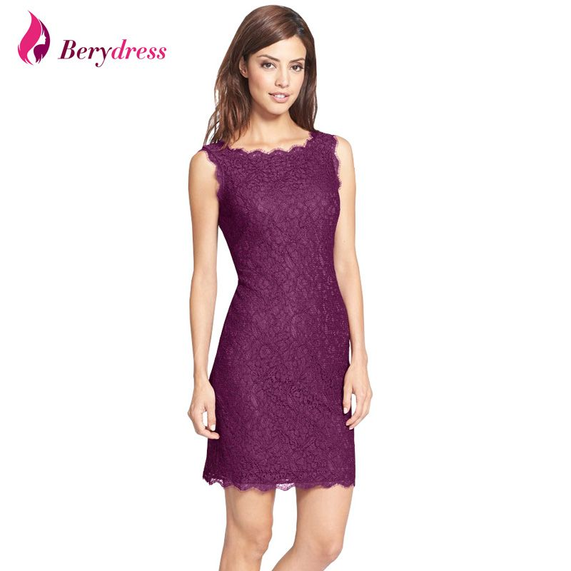 Women Dress - Bodycon Cocktail Party Elegant Women Floral Lace Dress ...