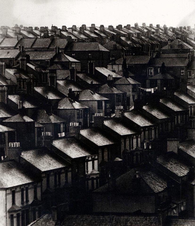 Bill Brandt. Rainswept Roofs, London, 1933. Anglophile