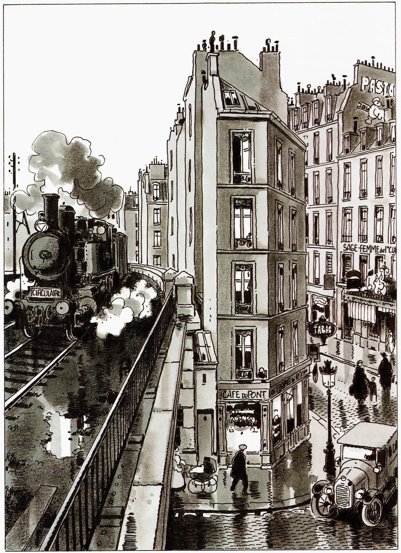 Jacques tardi ucle der des dersud editions casterman comics