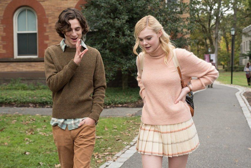 Daily Timothee Chalamet Elle Fanning New York Outfits Timothee Chalamet