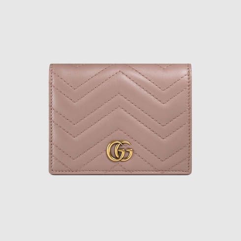07c70da2 GG Marmont card case in 2019 | Birthday 2017 | Gucci marmont bag ...
