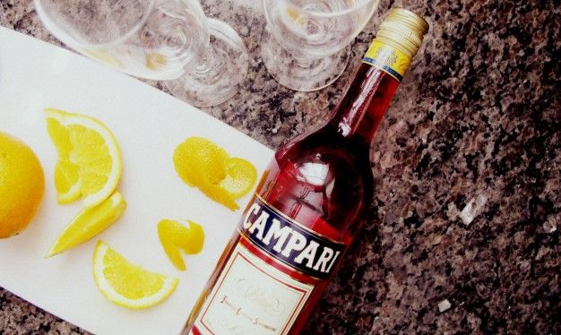 Wake up to a Campari Spritz instead of the usual morning mimosa this weekend.  Brunch Like an Italian | Squash Blossom Kitchens