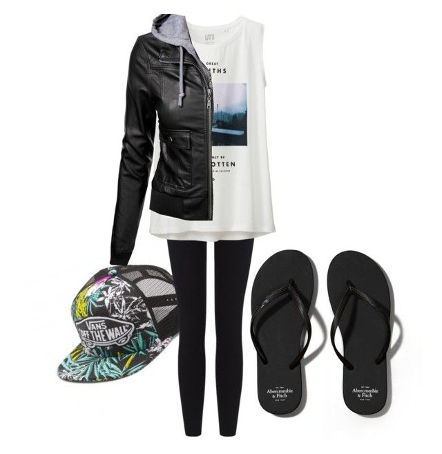 Untitled #172 by thisisvintage on Polyvore featuring polyvore, fashion, style, Uniqlo, James Perse, Abercrombie & Fitch and clothing