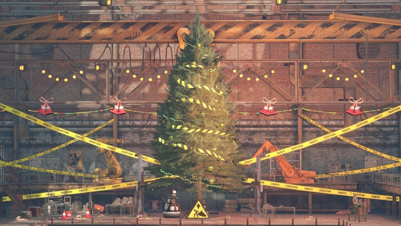 Crossout taking a look christmas garage decorations beautiful