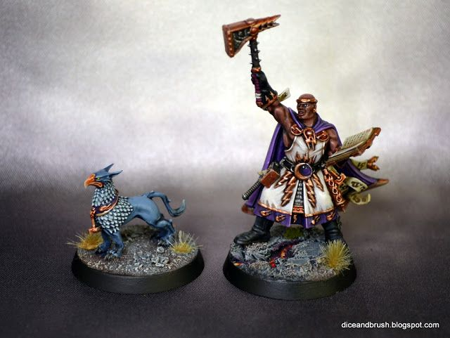 Excelsior Warpriest - Dice and Brush