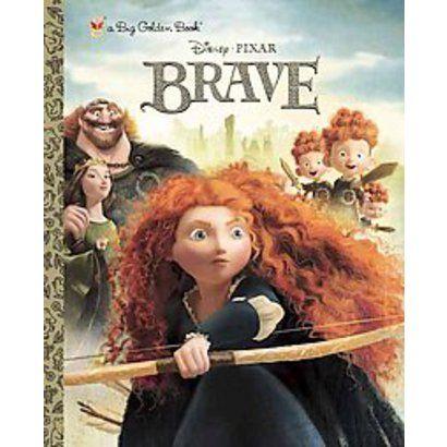 Brave Big Golden Book (Disney/Pixar Brave) by RH Disney & RH Disney (Illustrator)(Hardcover)