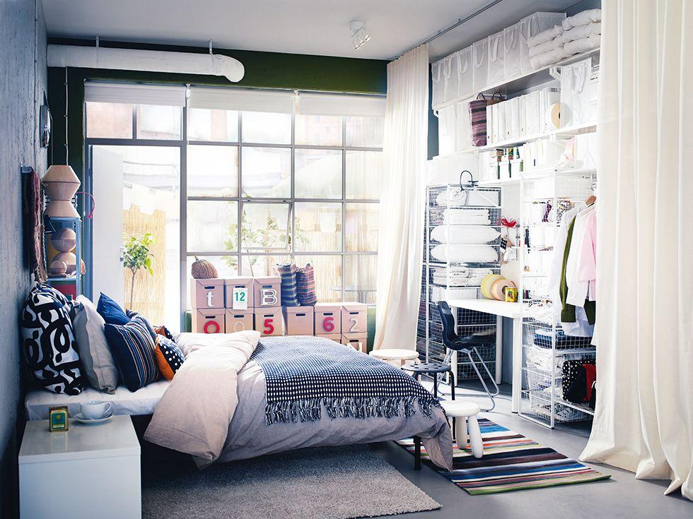 Garage Conversions Understanding The Basics Real Homes Ikea Bedroom Design Small Bedroom Small Bedroom Storage
