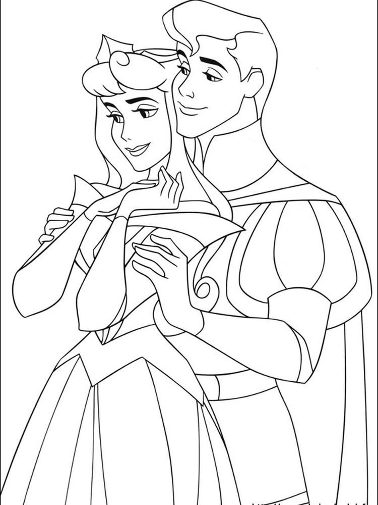 33++ Disney princess coloring pages sleeping beauty trends