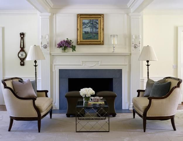 Modern Interior Design with Decorative Pilasters Adding Classic Chic