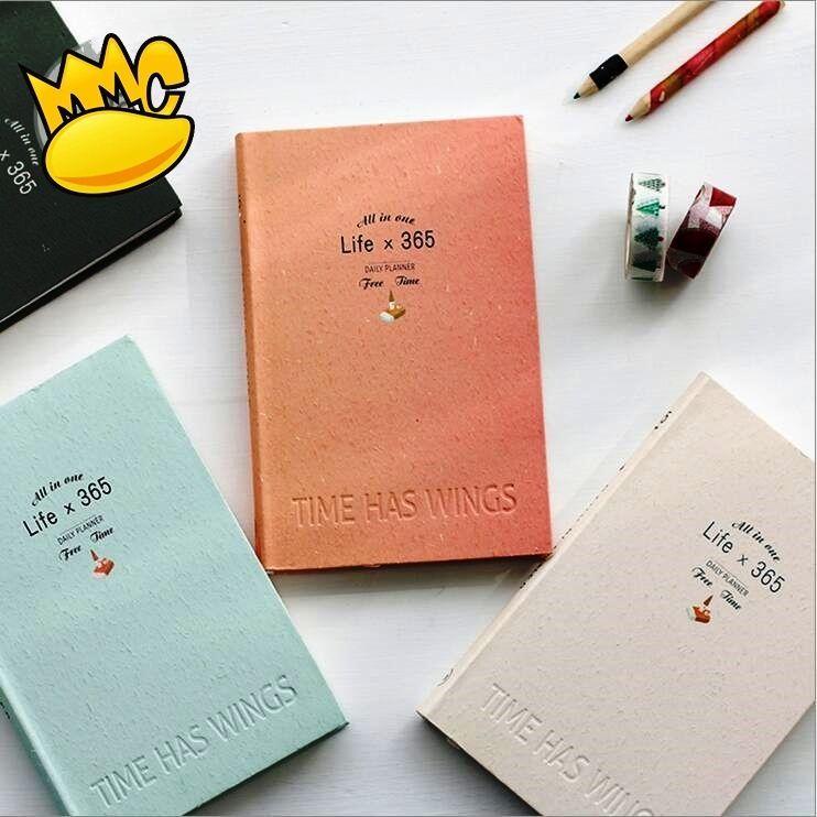 life 365 1pc weekly monthly planner agenda scheduler notebook