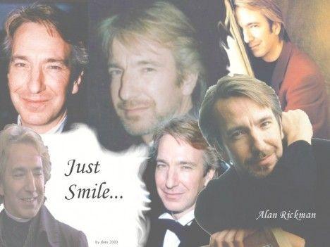 Alan's smiles wallpaper