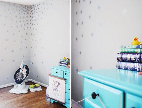 Star Wall Decals For Nursery  TheNurseries - Nursery wall decals stars
