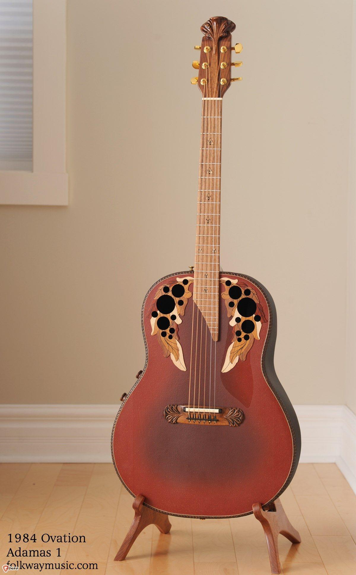 1984 Ovation Adamas Ovation Guitar Guitar Acoustic Guitar