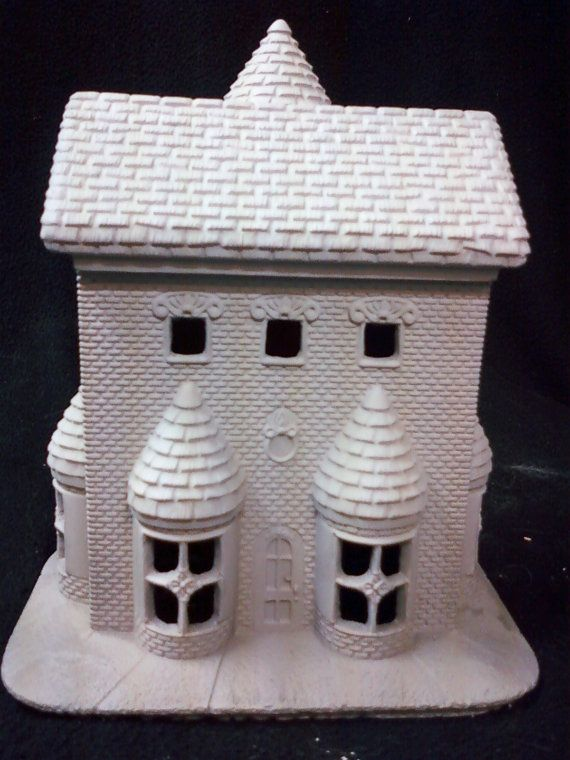 Ready To Paint Ceramic Bisque Toy Shop House By 4cnceramics Ready To Paint Ceramics Ceramic Painting Toy House