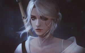 Witcher: Ciri by raikoart