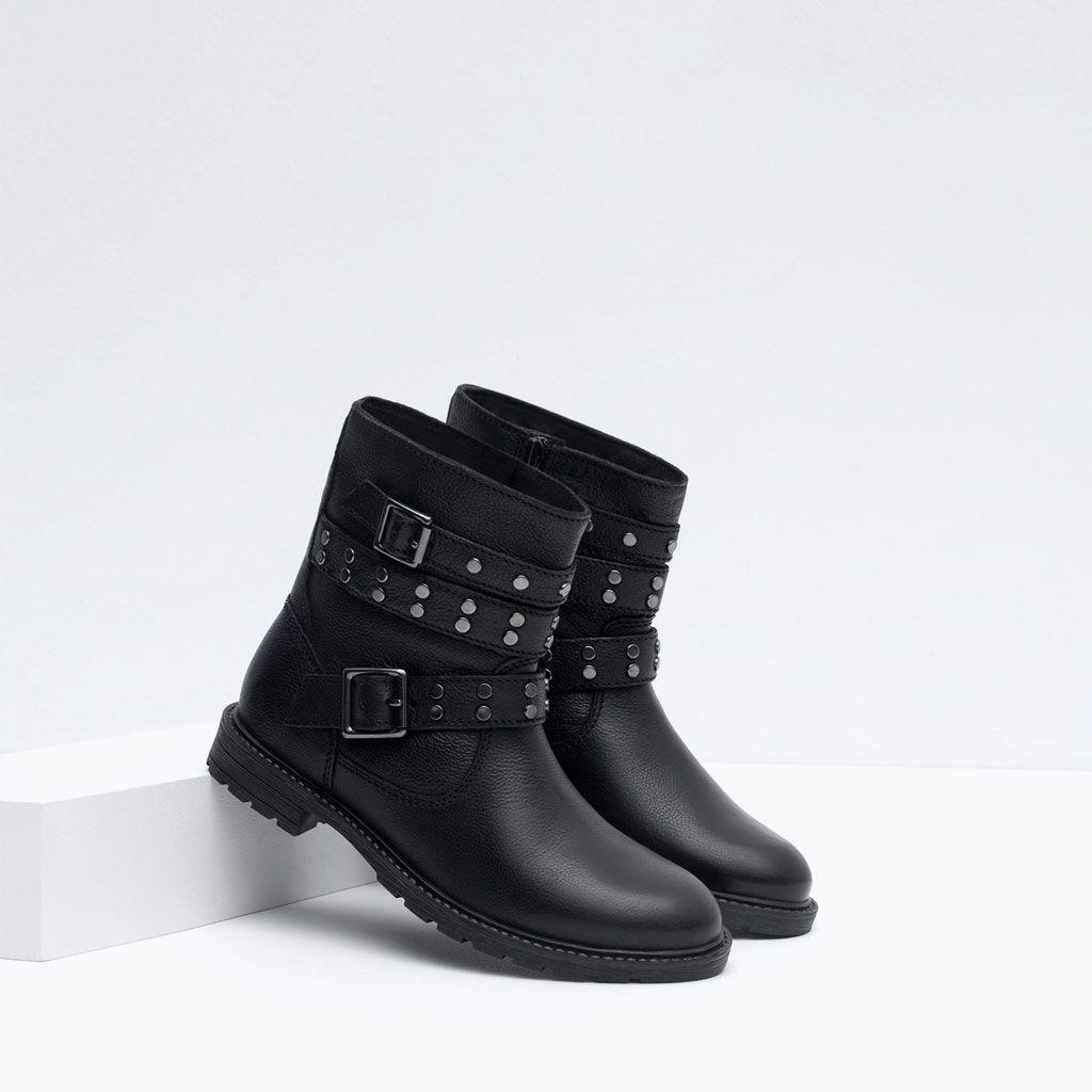 Bottes Enfants Chaussures Fille Mode bottine cuir oioRi6L
