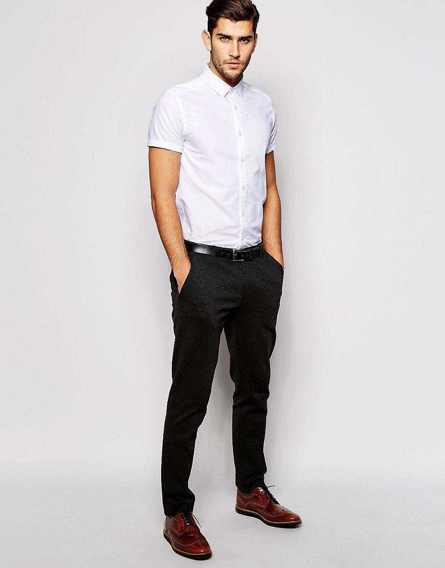 White Short Sleeve Shirt Short Sleeve Dress Shirt Men White Short Sleeve Dress Short Sleeve Dress Shirt [ 1110 x 870 Pixel ]