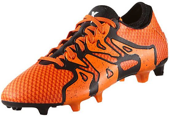 adidas X 15.1 Primeknit FG Soccer Cleats - Bold Orange