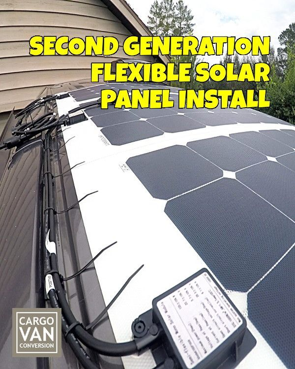 Solar Power Has Put Vandwelling Within Reach Of Ordinary People So With Full Time Rving In Mind I Have Begun W Rv Solar Power Flexible Solar Panels Rv Solar