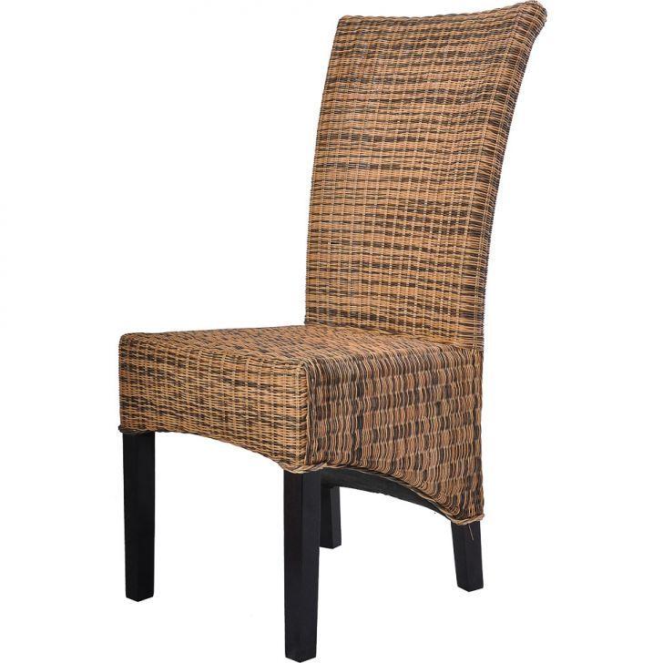 Cadeira de Jantar Macador Rattan mesclado