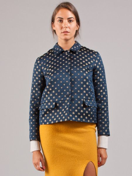 Suno Tailored A-Line Jacket