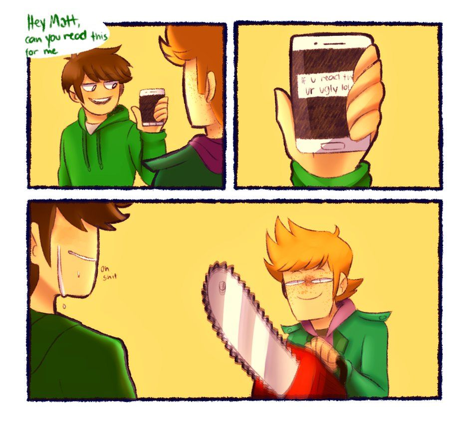 Edd Wait No D With Images Eddsworld Memes Eddsworld