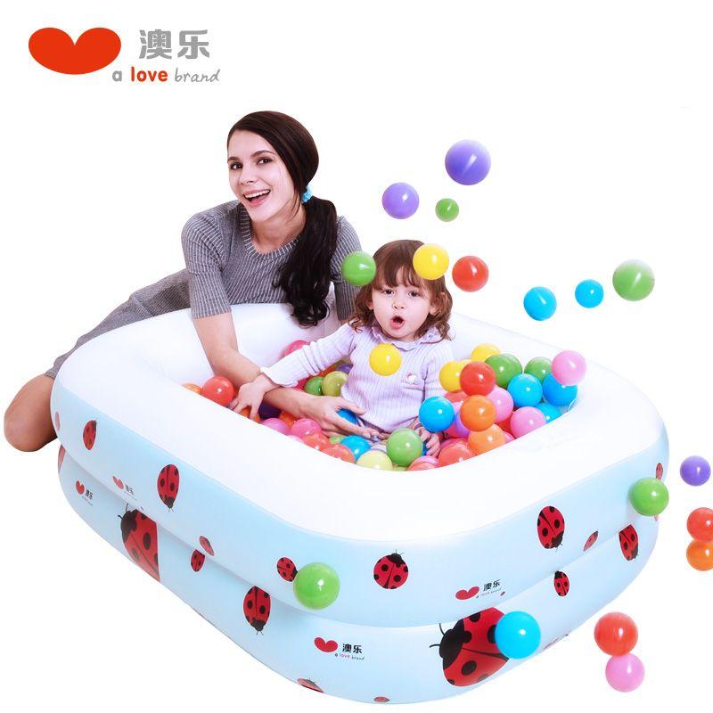 Child Inflatable Swimmingpool Baby Thickened Household Bath Pool Marine  Toys Piscina Inflavel Children Basin Bathtub Kids
