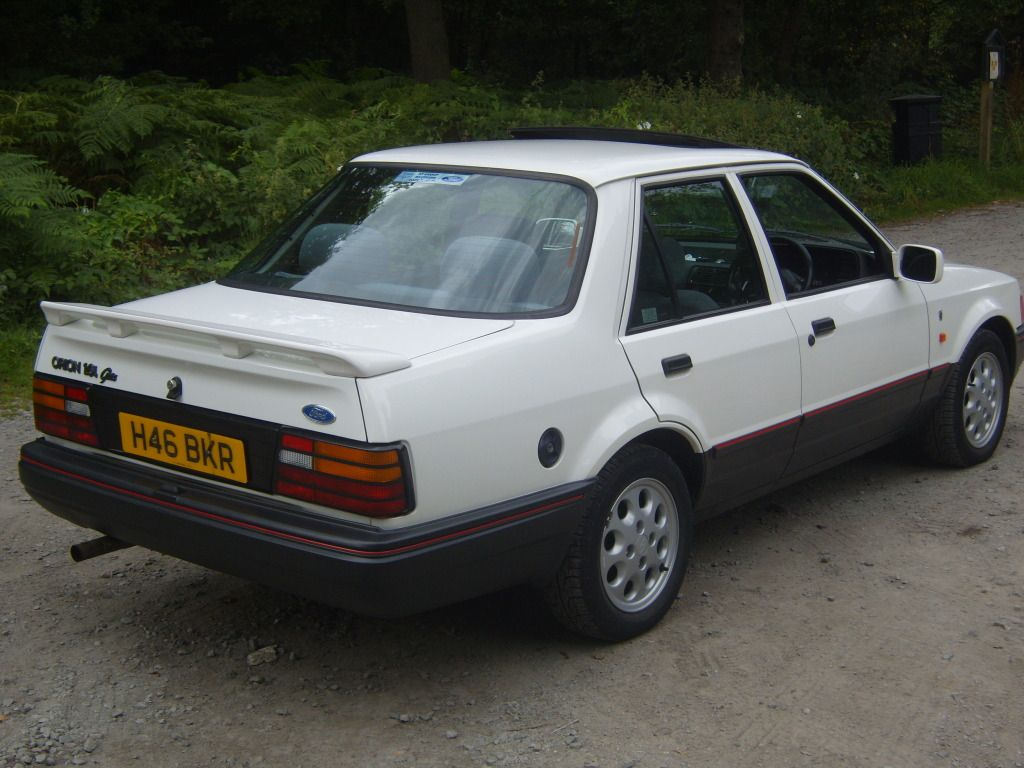 Ford Orion 1 6i Ghia My First Company Car It Had Been Stolen Prior To Me Being Promoted And I Had It For Precisely Ford Orion Classic Cars British Retro Cars