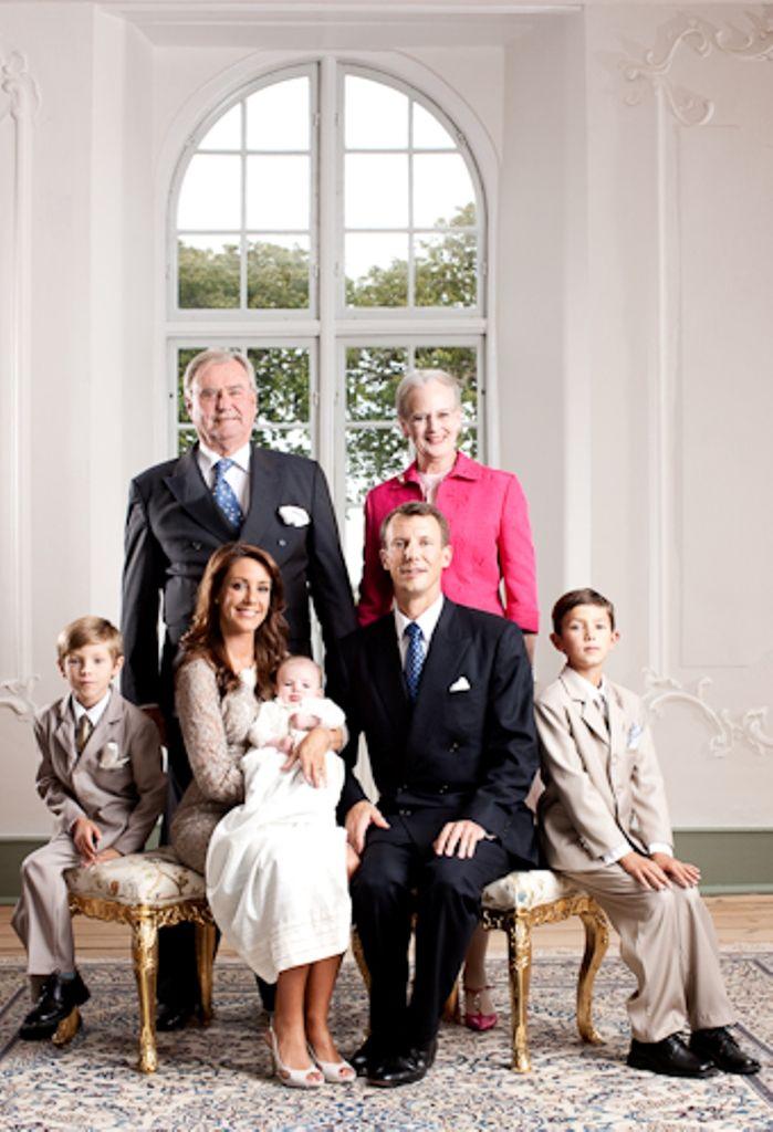 Regentparret prins joachim prinsesse marie prins nikolai prins felix og prins henrik