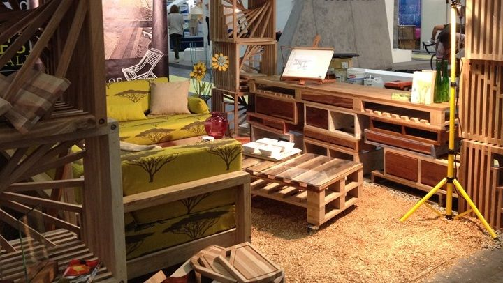 The pallet inspired Nkwana range launched at Design Indaba ...