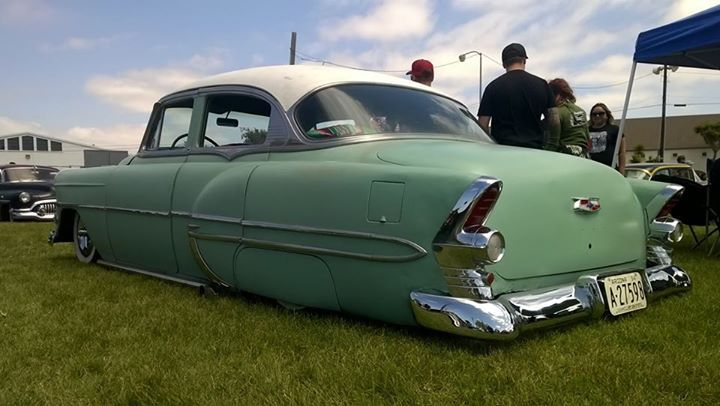 1953 chevrolet 4 door with 55 buick tail lights 5354 chevy bel 1953 chevrolet 4 door with 55 buick tail lights sciox Choice Image