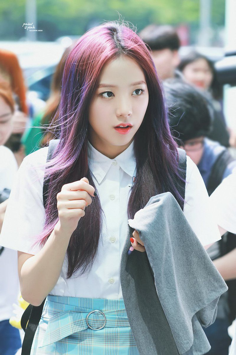 Book Cover Black Hair : Paint it pink on blackpink kpop and idol