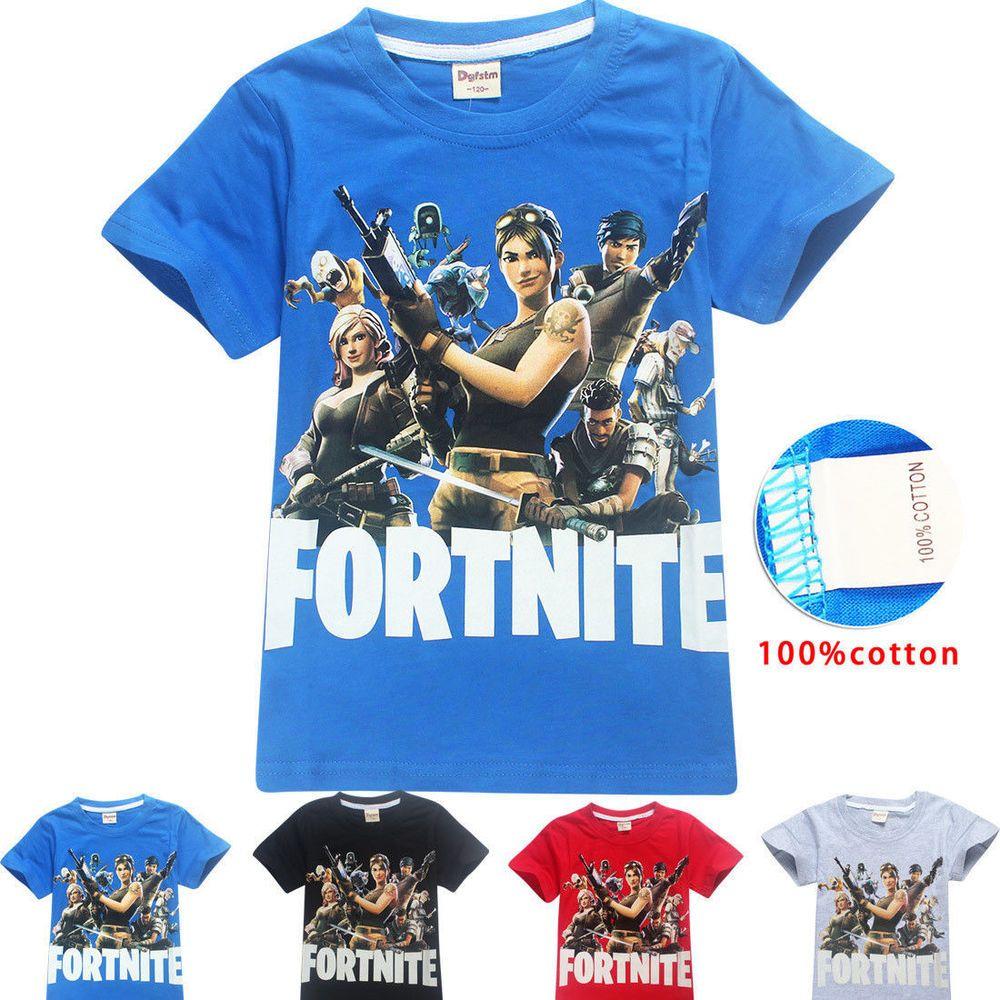 Details about ftnite game boys girls summer tee tshirt