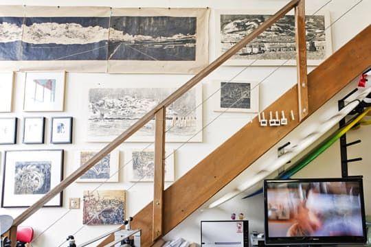 Sirima's Vintage Industrial Artist's Loft