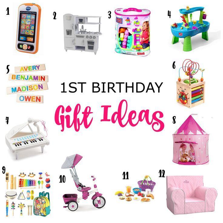 1st Birthday Gift Ideas 1st birthday gifts, Best first