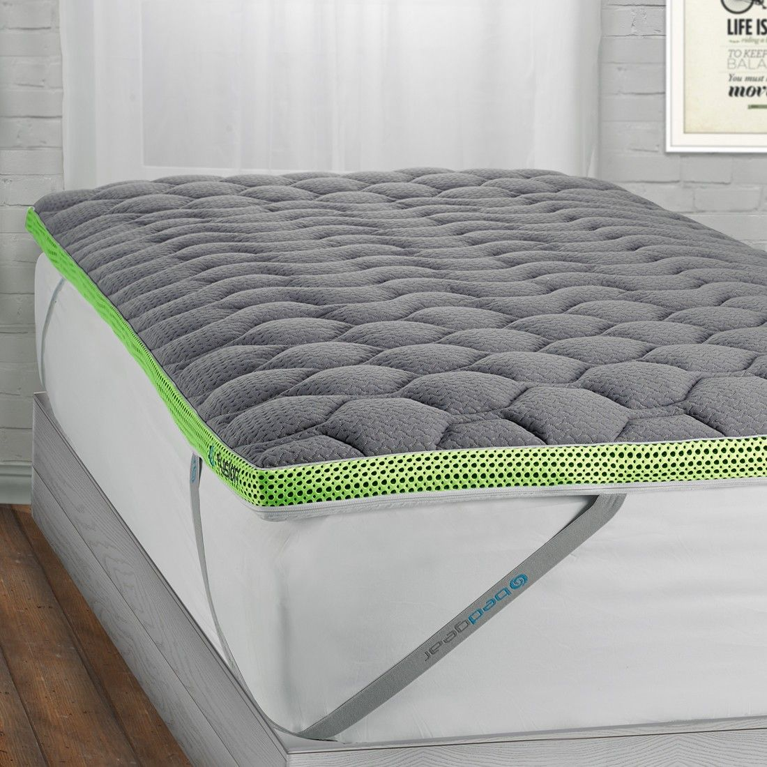 The Fusion Dri Tec Mattress Topper Is Designed To Wick Away Heat And Moisture