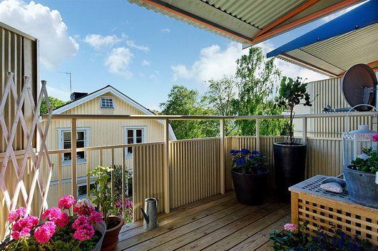 Idee per arredare e addobbare il balcone estivo | Terrazzo ...