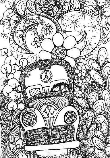Trippy Bug Zentangle By Mysticdragonfly Coloring Pages Zentangle Patterns Doodle Coloring