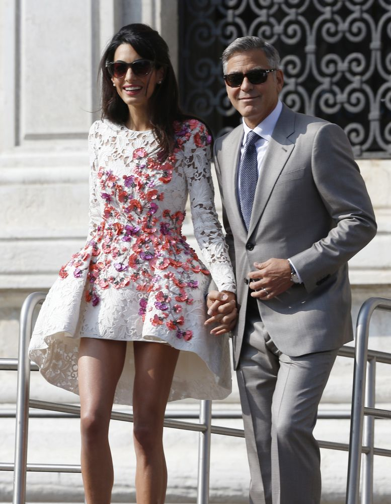 All The Times Amal Clooneys Style Was Flawless The Huffington Post Canada Style
