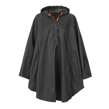 (99+) Fab.com   Waterproof Poncho Black