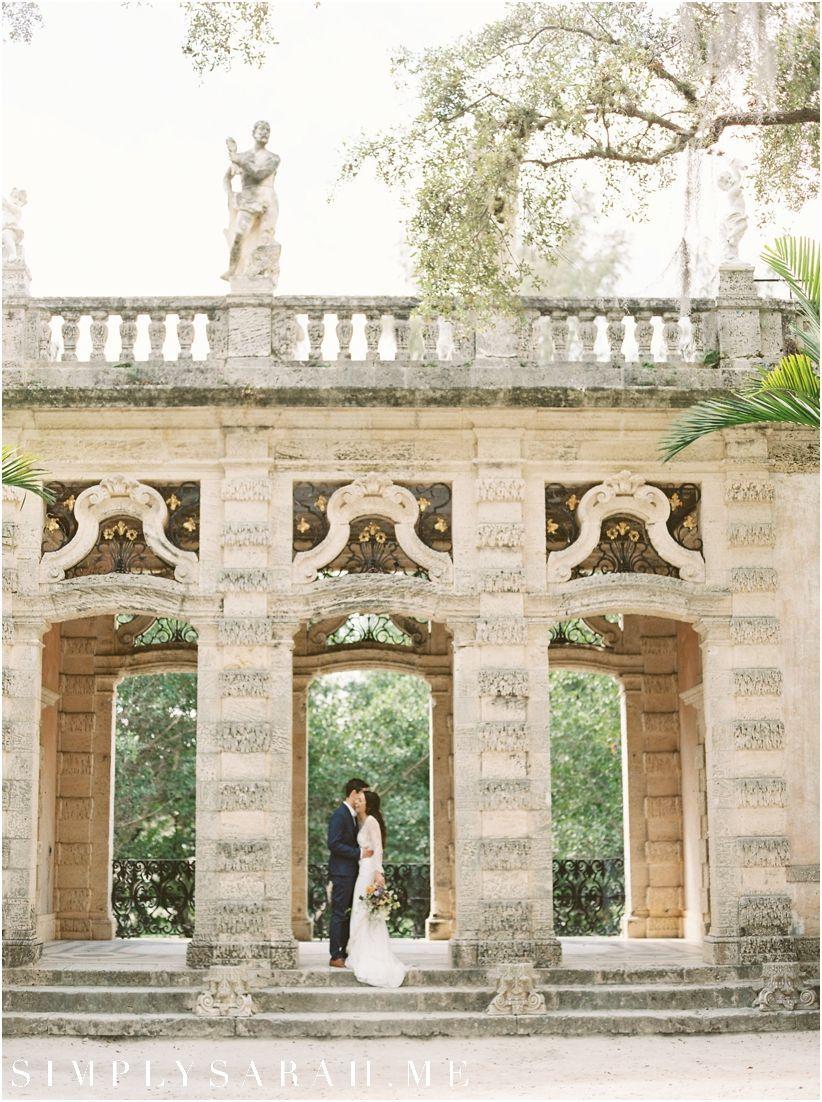 Vizcaya Miami Wedding Photographer Winter Wedding Destinations Destination Wedding Historic Wedding Venue