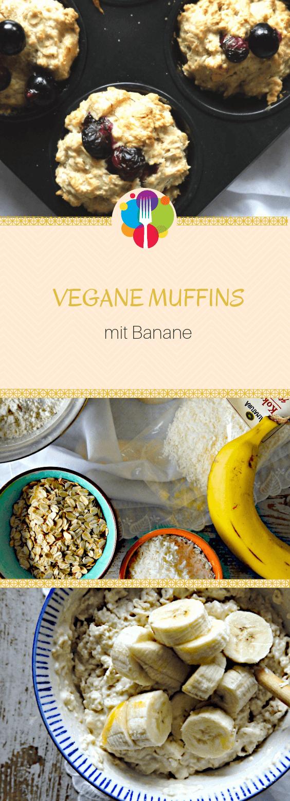 Vegane Muffins mal 3 – mit Apfel, Banane und Schokolade – Vegalife Rocks Blog