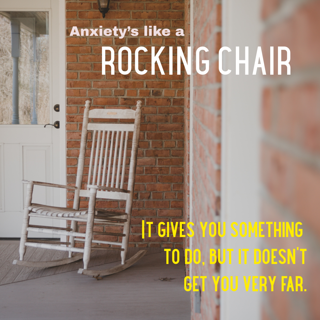 It Does Sometimes Certainly Look This Way Right Mentalhealth Wellbeing Psychologicalflexibility Act In 2020 Rocking Chair Something To Do Chair