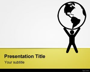 Free Environmental Issues Powerpoint Template Is A Free Environmental And Sustainability Powerpoi Free Powerpoint Presentations Powerpoint Templates Powerpoint