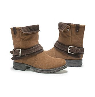 """MUK LUKS® """"Kai"""" Ankle Boots  at www.younkers.com"""