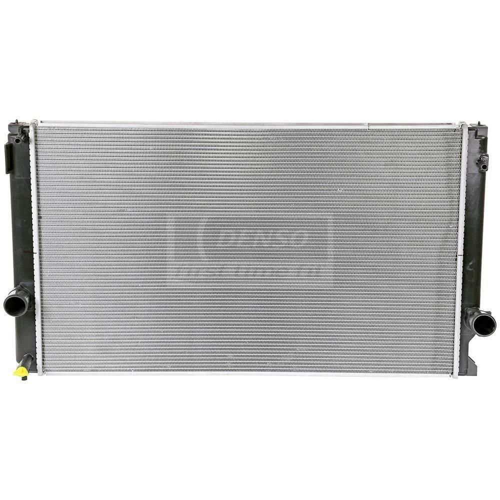 DENSO is a leading supplier of radiators to OE car makers around the world. DENSO's OE experience and know-how ensure its products provide unmatched performance, reliability and fitment. Radiator performance is essential for proper engine cooling and function. DENSO's radiator configurations, tanks, fin pitch, core dimensions and materials meet OE manufacturer's rigid standards. All DENSO radiators pass its strict durability and function tests. As the result, DENSO radiators deliver reliable per