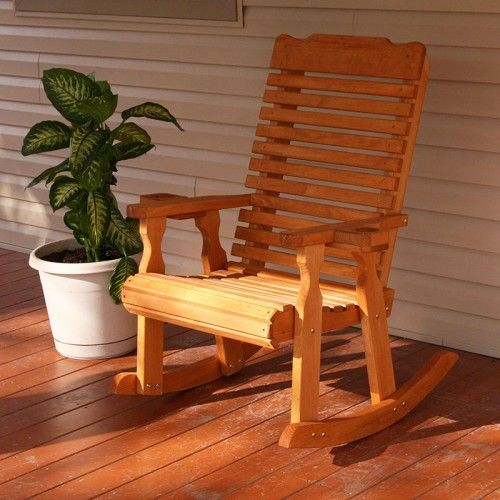 Centerville Amish Heavy Duty  Lb. Classic Rocking Chair Wood
