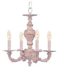 Sutton 4 light antique white mini chandelier overstock ceiling fan sutton 4 light antique white mini chandelier mozeypictures Gallery