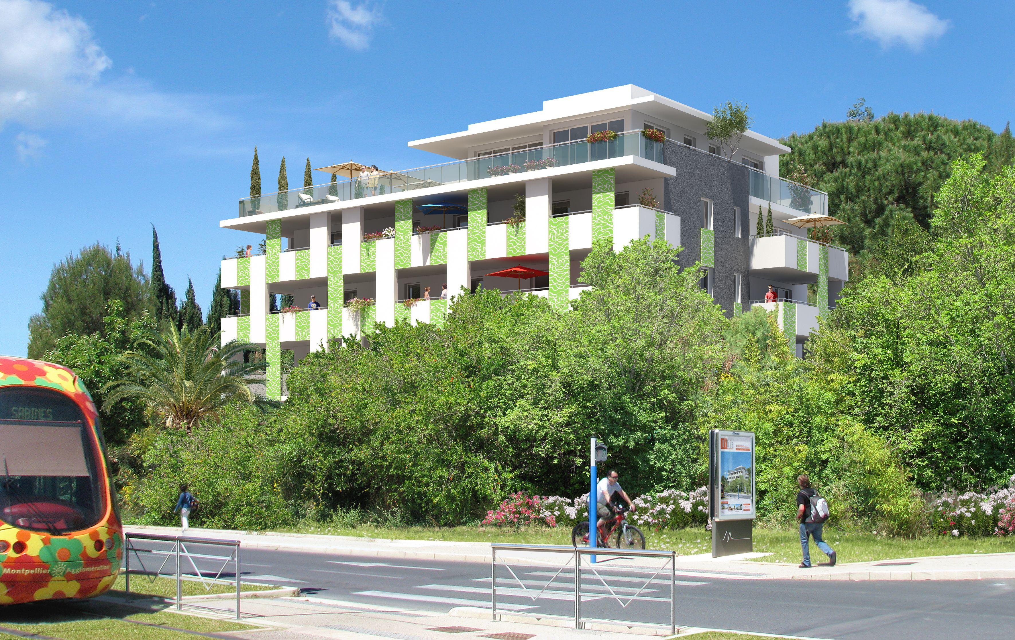 Gary Pons Residence Inscrite Dans Un Environnement Preserve Et Verdoyant Au Cœur De Montpellier Sabines Grisette Montpellier Immobilier Languedoc Roussillon
