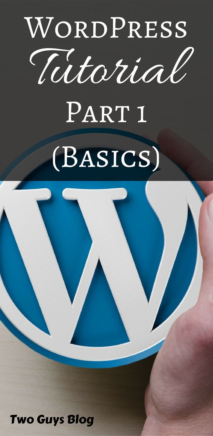 Stuck with WordPress? Join the club!! Just kidding, It's easy once you learn a few things. We'll keep adding tutorials as long as our readers are needing them! This is Part 1!